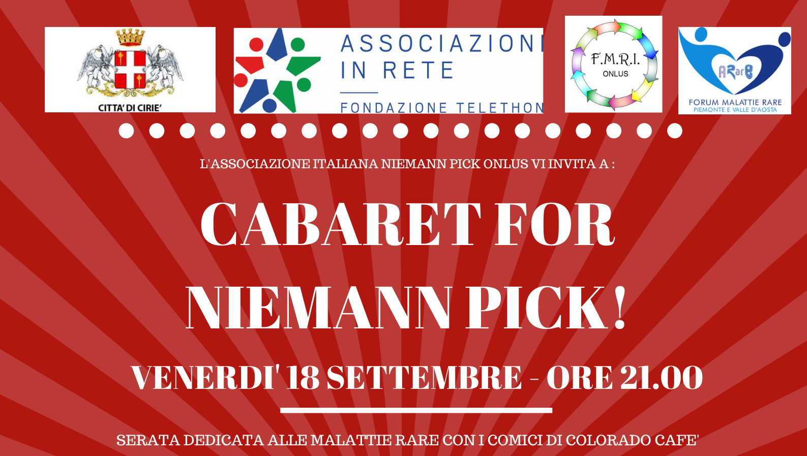 CABARET FOR NIEMANN PICK!
